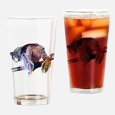 lemur Drinking Glass