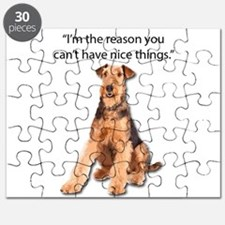 Airedales: Why you can't have nice things Puzzle