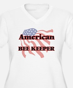 American Bee Keeper Plus Size T-Shirt