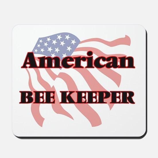 American Bee Keeper Mousepad