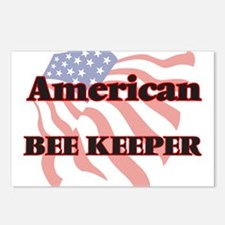 American Bee Keeper Postcards (Package of 8)