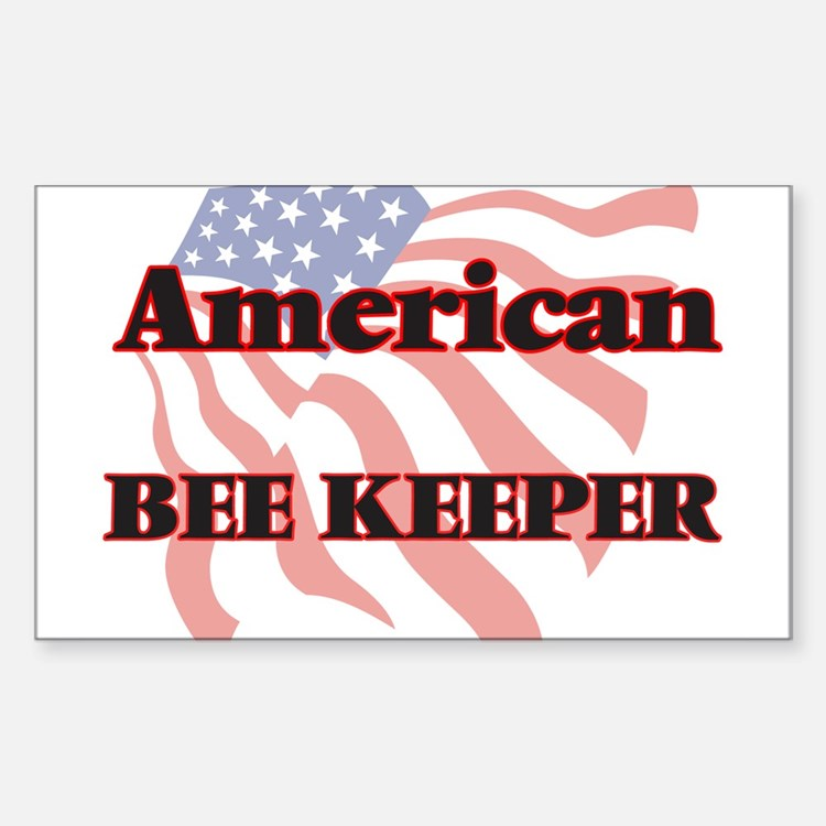 American Bee Keeper Decal