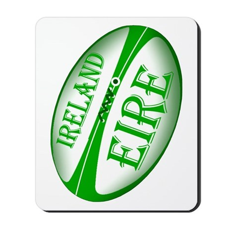 Eire Ireland Rugby Mousepad