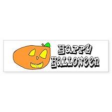 Jack-O-Lantern Bumper Bumper Sticker