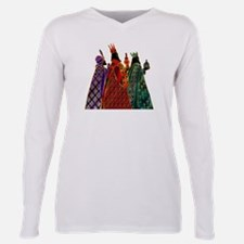 Funny Three wise men Plus Size Long Sleeve Tee