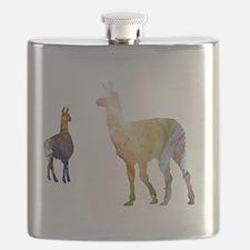 Cute Llamas Flask