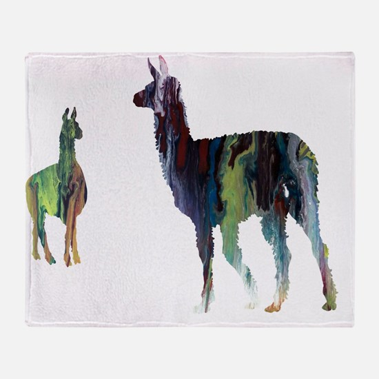 Animal pictures Throw Blanket