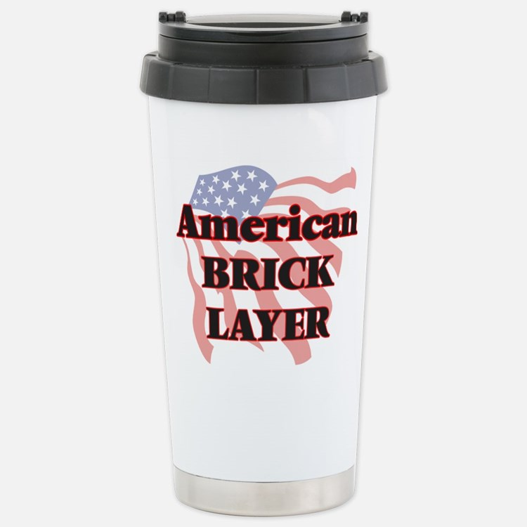 American Brick Layer Thermos Mug