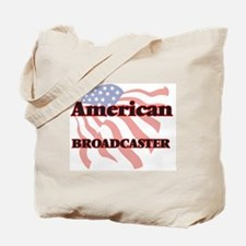 Cute Television broadcasting Tote Bag