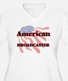 American Broadcaster Plus Size T-Shirt