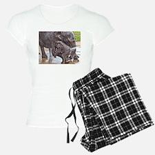 BABY ELEPHANT BATH TIME WIT Pajamas
