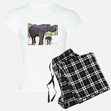 BATH TIME FOR BABY ELEPHANT Pajamas