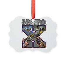 MotoXcross Ornament