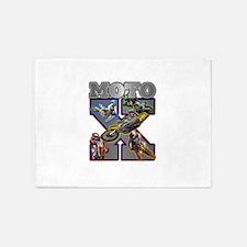 MotoXcross 5'x7'Area Rug