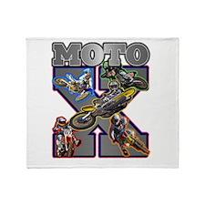 MotoXcross Throw Blanket