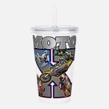 MotoXcross Acrylic Double-wall Tumbler