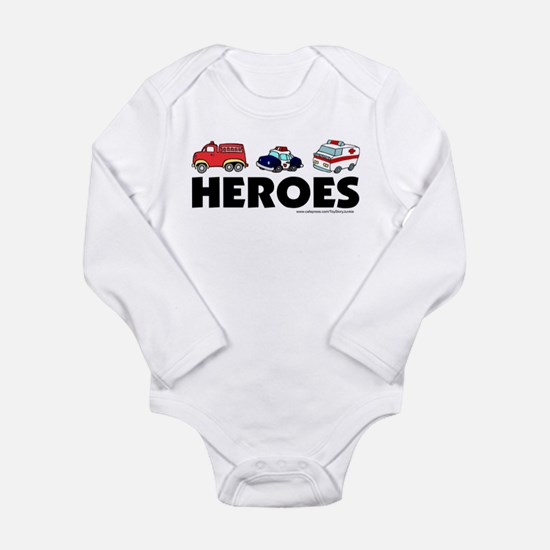 Cool Police baby Long Sleeve Infant Bodysuit