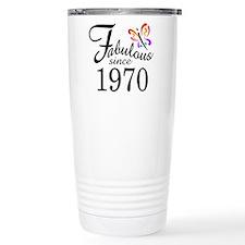 Unique 70s Thermos Mug