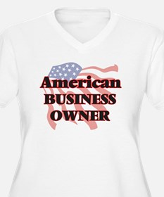 American Business Owner Plus Size T-Shirt