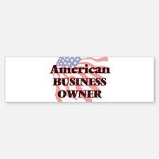 American Business Owner Bumper Bumper Bumper Sticker