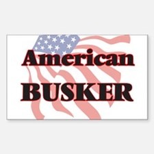 American Busker Decal