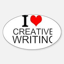 I Love Creative Writing Decal