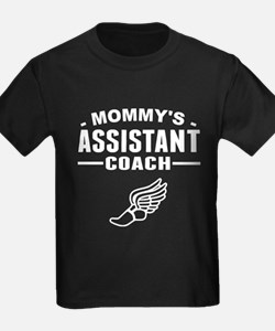 Mommy's Assistant Track Coach T-Shirt