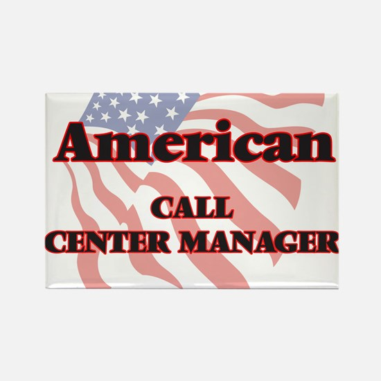 American Call Center Manager Magnets