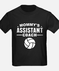Mommy's Assistant Volleyball Coach T-Shirt