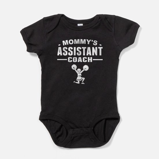 Mommy's Assistant Cheer Coach Baby Bodysuit
