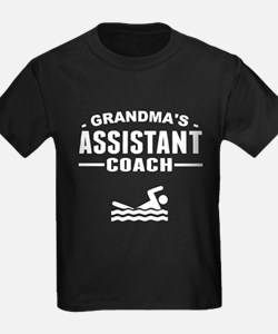 Grandma's Assistant Swim Coach T-Shirt