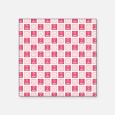 "IT'S A GIRL! Square Sticker 3"" x 3"""