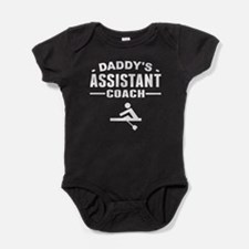 Daddy's Assistant Crew Coach Baby Bodysuit