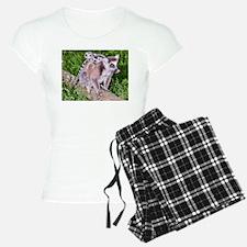 RING TAILED LEMUR MOTHER AN Pajamas