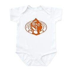 Retro Buddha Buddha Infant Creeper