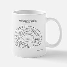 Republican Brain Mugs