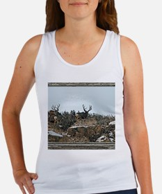 Wood wall bucks 15 Women's Tank Top