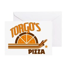 Torgo's Pizza Greeting Card