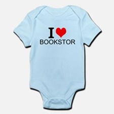 I Love Bookstores Body Suit