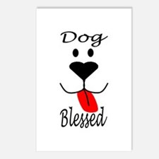 Dog Blessed Postcards (Package of 8)