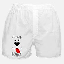 Dog Blessed Boxer Shorts