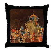 Princess Badoura Throw Pillow