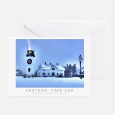 Chatham, Cape Cod Christmas Greeting Cards 20 Pk