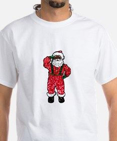 glitter black santa claus T-Shirt