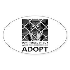 Shelter Dog Decal
