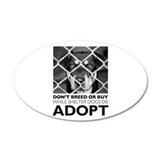 Shelter Dog Wall Decal