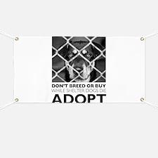 Shelter Dog Banner