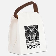 Shelter Dog Canvas Lunch Bag