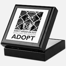 Shelter Dog Keepsake Box