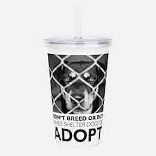 Shelter Dog Acrylic Double-wall Tumbler